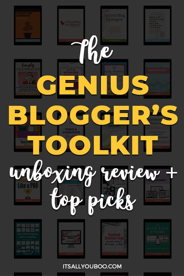 The Genius Blogger's Toolkit 2021 Review