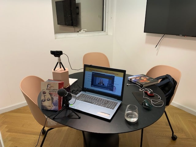 Tamara recording course videos