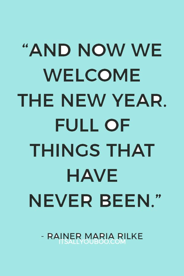 44 New Year Quotes for Friends and Family | It\'s All You Boo