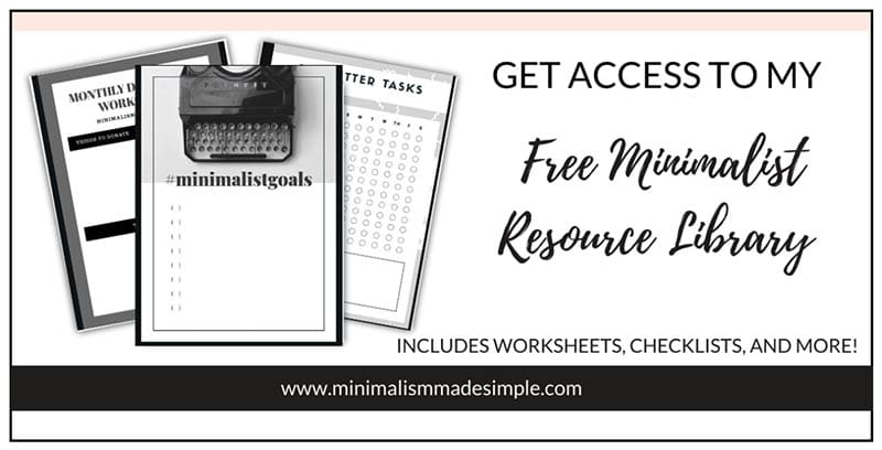 Freebies and Free Courses Minimalism