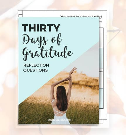 100 Free Printables and Courses - Gratitude Journal