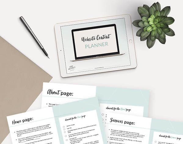 100 Free Printables and Courses - Website Content Planner