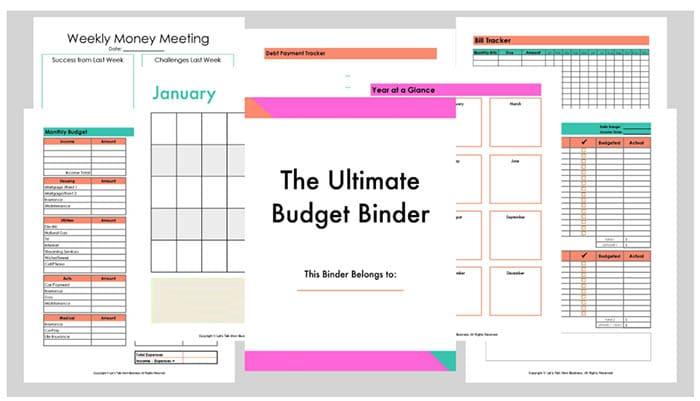 100 Best Printables and Freebies - Budget Binder