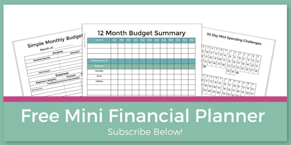 100 Free Printables and Courses - Financial Planner