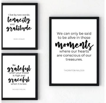 100 Best Freebies and Free Printables - Gratitude Quotes