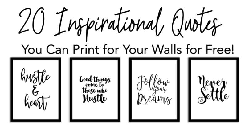 Free Printables and Free Quotes - Inspirationanl