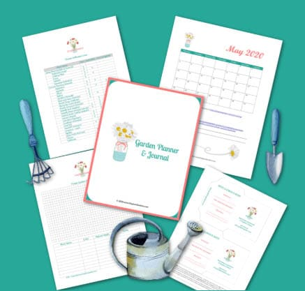 100 Free Printables and Free Courses - Gardening