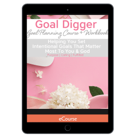 Goal Digger: Goal Planning Workshop + Workbook