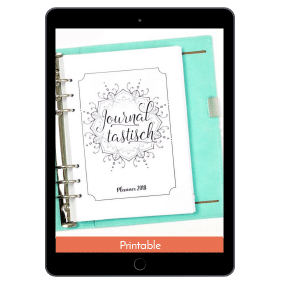 Journaltastisch Planner: Get Your To-Do's Under Control