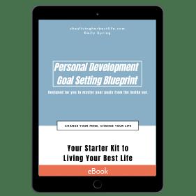 Personal Development Goal Setting Blueprint