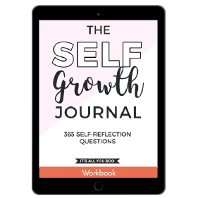 The Self Growth Journal: 365 Self-Reflection Questions