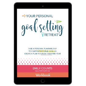Ultimate Productivity Bundle, Your Personal Goal Setting Retreat