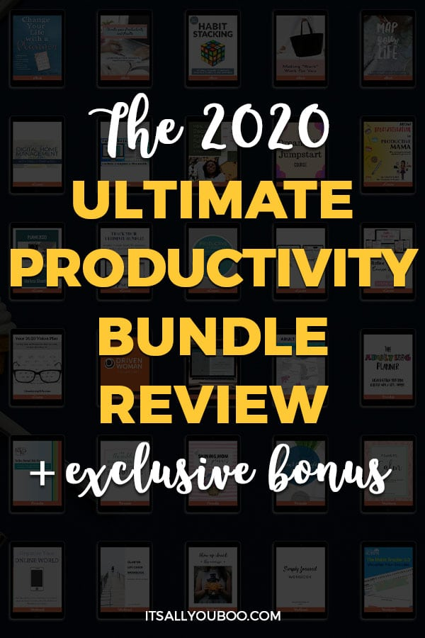 Ultimate Productivity Bundle 2020 Review + Exclusive Bonus