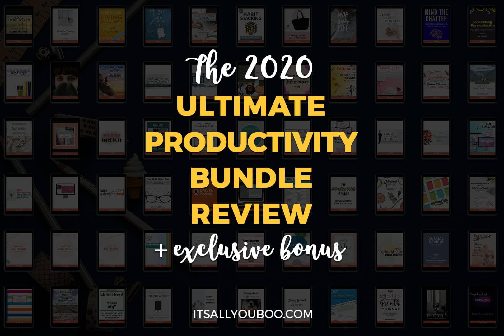 Ultimate Productivity Bundle 2020 Review + Exclusive Bonus