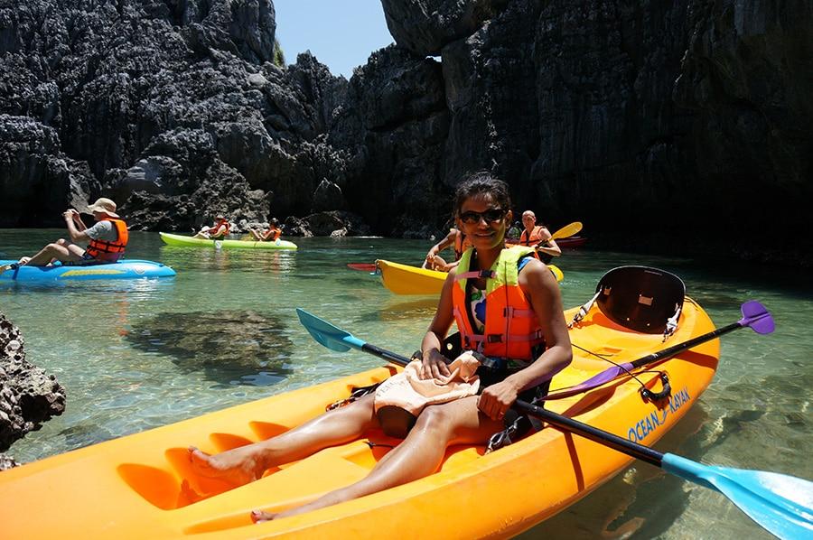 Rosemary Kayaking