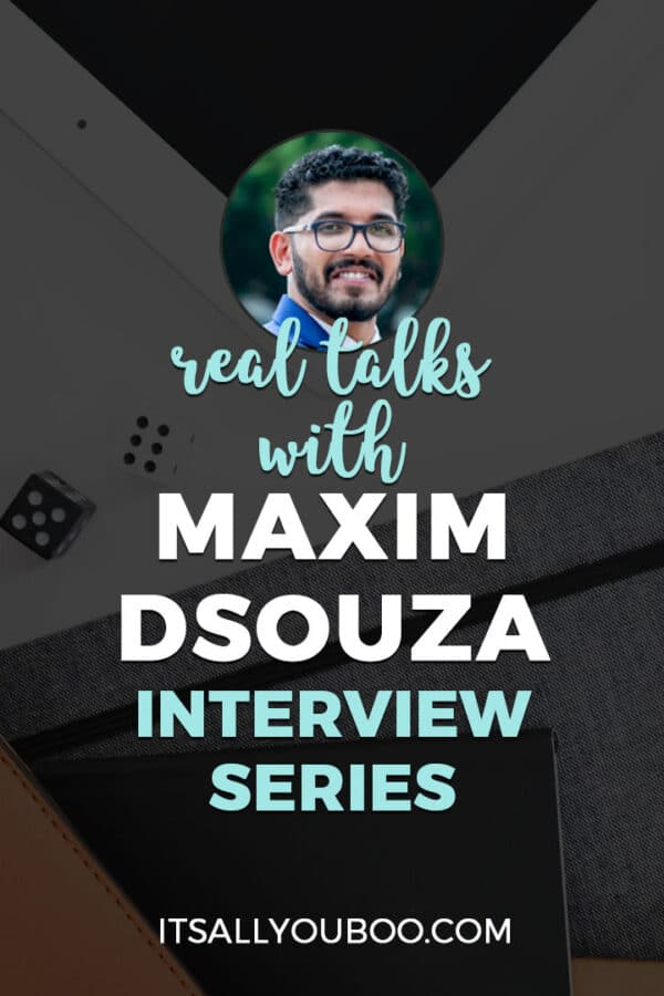 Real Talks with Maxim Dsouza of Productive Club