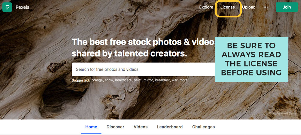 finding free stock photos for your new blog