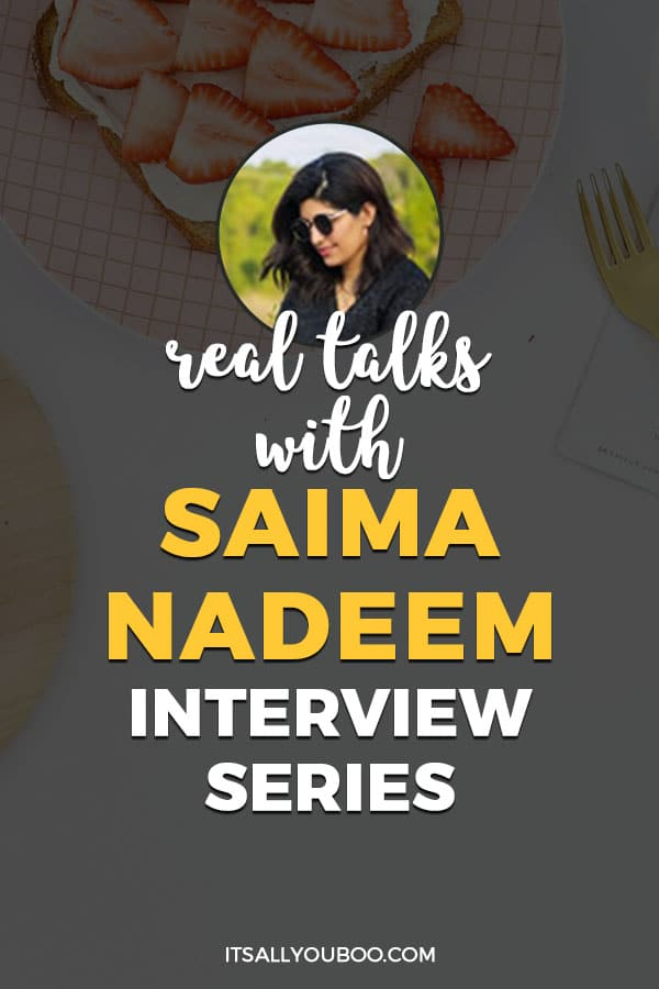 Real Talks with Saima Nadeem, A Supertired Mom