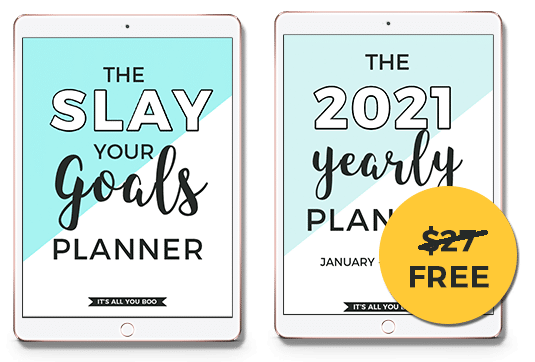 Buy One Get One Free Planner