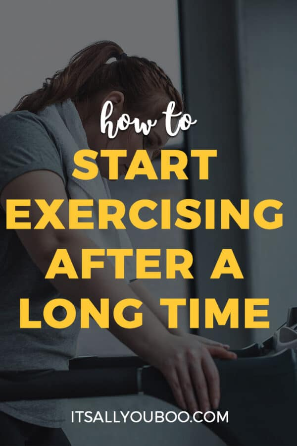 How to Start Exercising After a Long Time