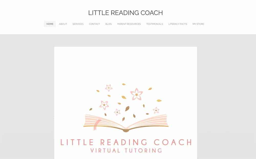 Little Reading Coach - Tutoring Example of Part Time Business Idea