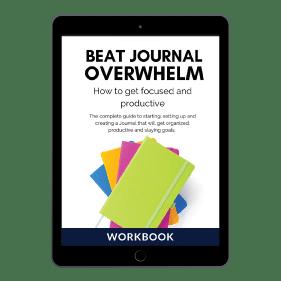 Beat Journal Overwhelm