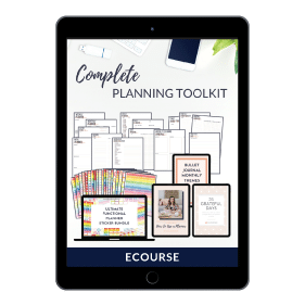 Complete Planning Toolkit