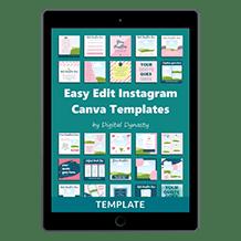Easy Edit Instagram Template