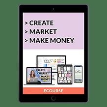 Create, Market, &amp Make Money – Templates