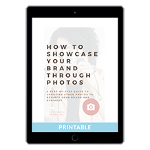 How to Showcase Your Brand Through Photos