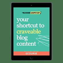Blogger Jumpstart