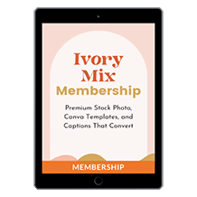 Ivory Mix Content Membership by Kayla Butler