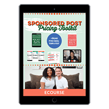 Sponsored Post Pricing Toolkit
