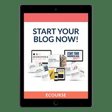 Start Your Blog Ki