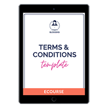 Terms & Conditions Template for Bloggers and Content Creators