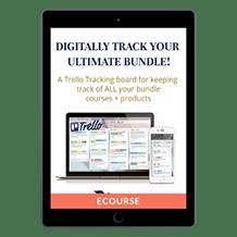 Genius Blogger's Toolkit 2021 Trello Tracking Board<